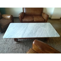 Table en Marbre Blanc de Carrara